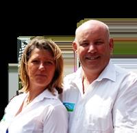 Franck Hostens & Catherine Echegaray - Camping La Vallée Verte - Auvergne
