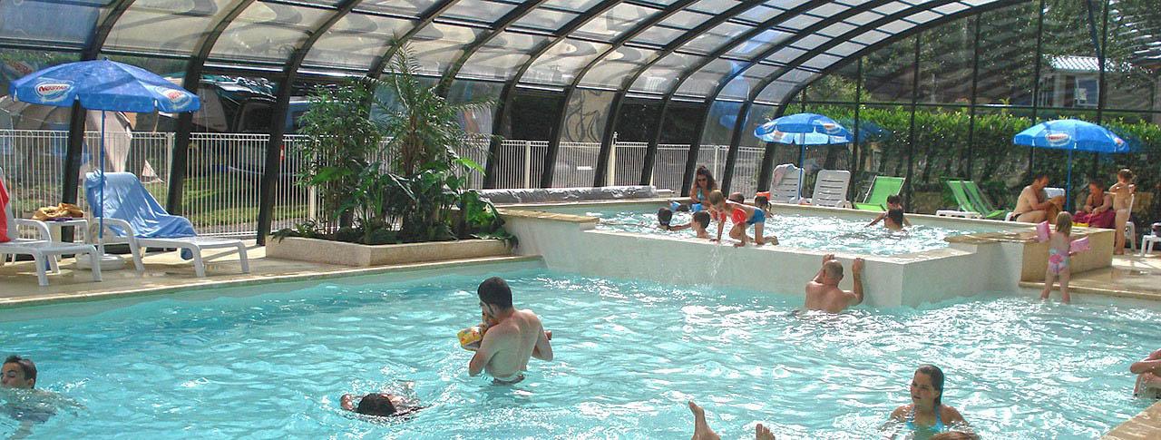 Camping la vall e verte saint nectaire puy de d me - Camping auvergne piscine ...