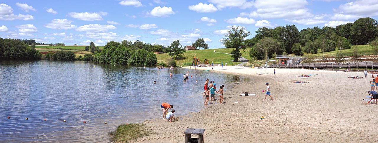camping rouffiac lac