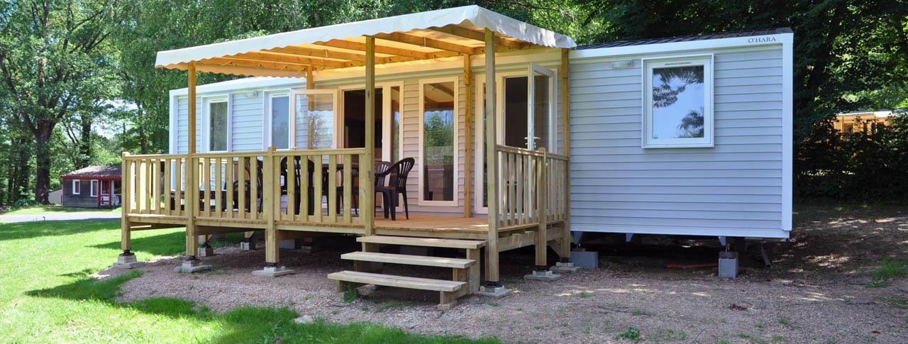 camping rouffiac mobil home