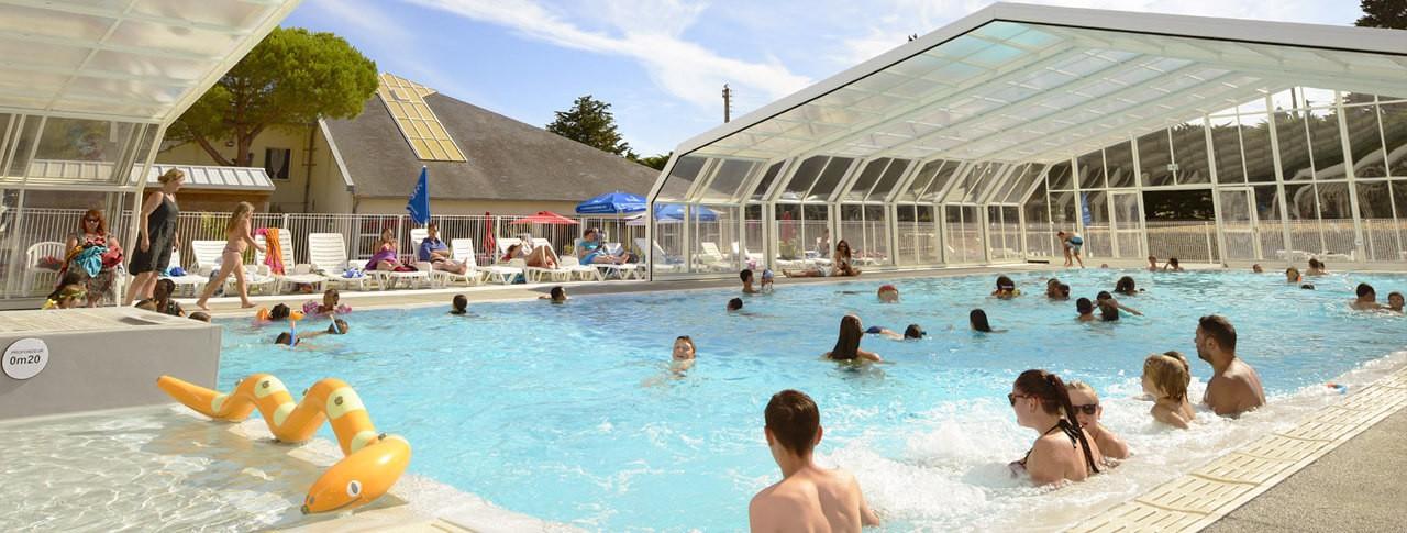 camping quiberon piscine couverte chauffee