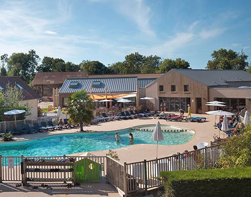 Camping les aub pines le crotoy somme picardie in france for Camping bourgogne piscine