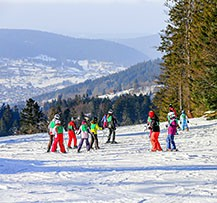 camping vosges hiver
