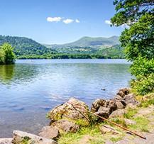 camping auvergne lac