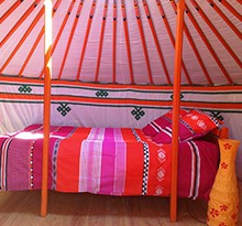 Yurts in France