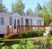 Mobile homes : campsites in France