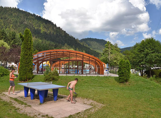 Camping verte vall e xonrupt longemer vosges lorraine for Camping gerardmer piscine