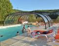camping La Sagne piscine extérieure couverte