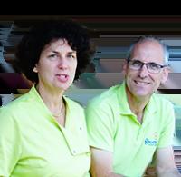 Claire et Michel Elizalde - Camping Le Médoc Bleu - Aquitaine