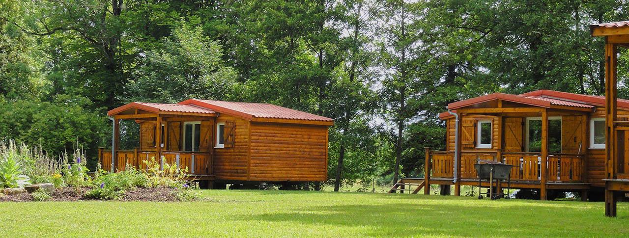 camping Domaine du Buisson location de chalets