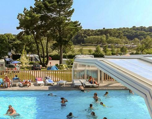 Camping le conleau vannes morbihan bretagne in france for Camping bourgogne piscine