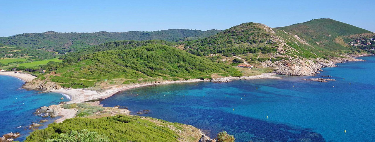 Camping La Rouillère bord de plage Saint Tropez