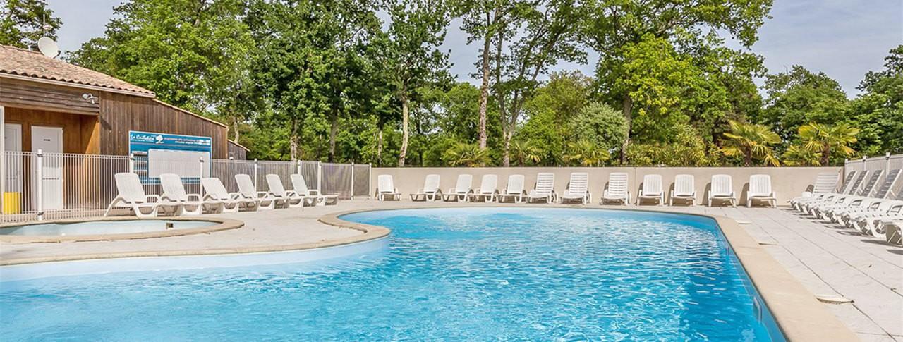 camping La Cailletière piscine