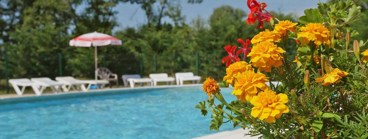 Camping Les 3 Ours piscine extérieure