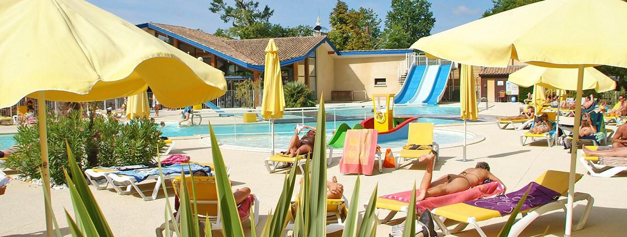 camping Bimbo piscine extérieure chauffée