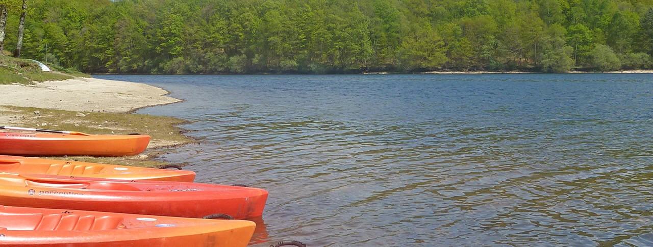 camping La Plage canoë kayak