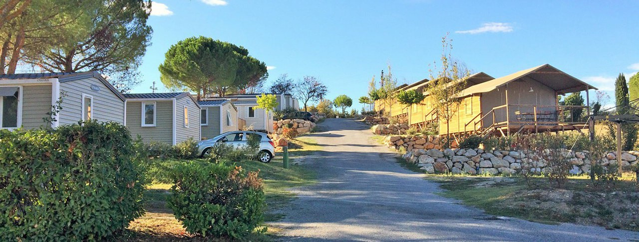 camping Provence Vallée location de mobilhomes à Manosque - Provence Alpes Côte d'azur