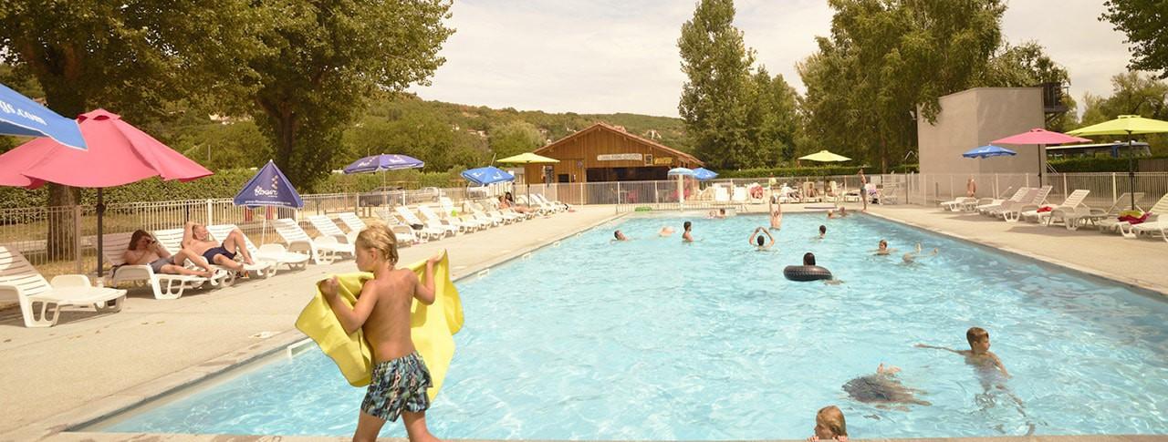 Camping Les Ondines piscine