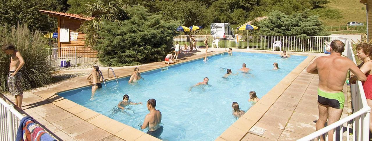 camping larize avec piscine arige