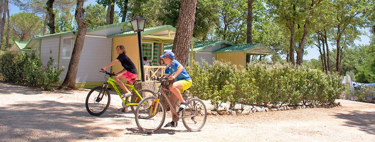 Camping le Provençal mobil-homes Saint-Maximin