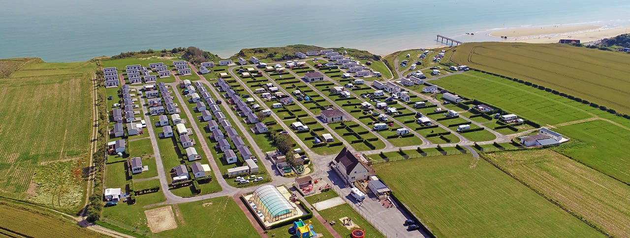camping Omaha Beach Normandie locations