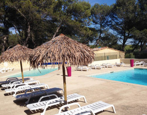 principale camping Lou Paradou piscine