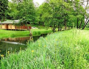 camping Domaine du Buisson location de chalets à Louvemont