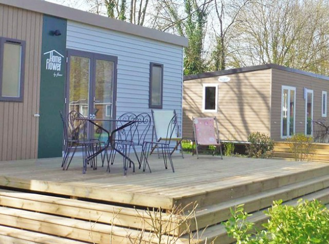Camping Port Caroline mobil-homes premium Val-de-Loire-2