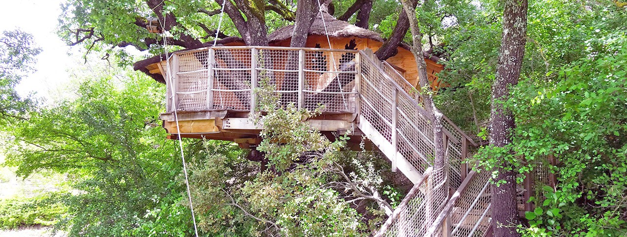 Location de cabane dans les arbres