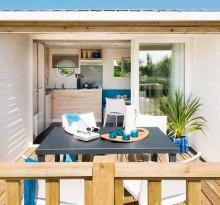 camping Saint Amand mobilhome luxe