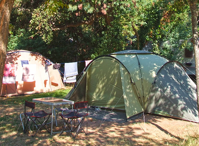 camping Le Fréjus emplacement tentes-4
