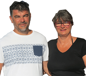 Christel & Fabrice Sanchis - Camping Le Haut Dick - Normandie