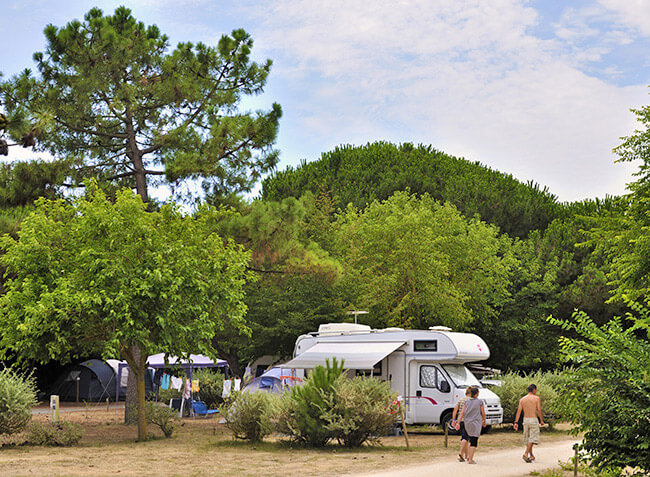 camping Le Bel Air emplacement camping car-5