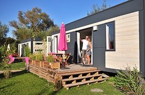 location mobil home luxe