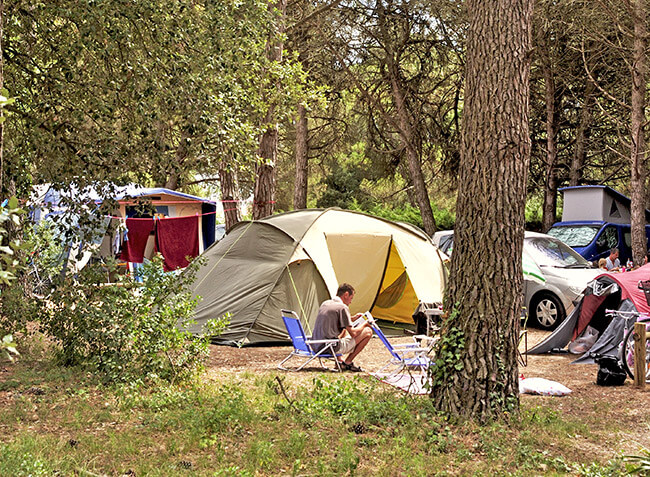 camping Le Bel Air emplacement tent-12