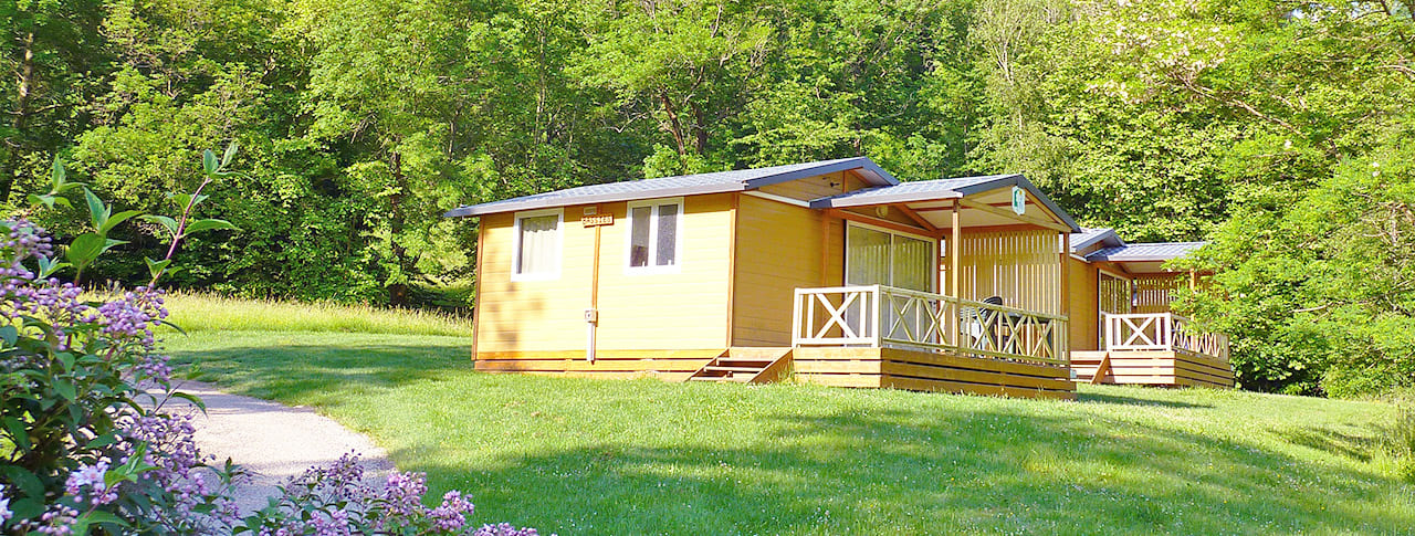 Camping La Bexanelle chalets vicdessos-2