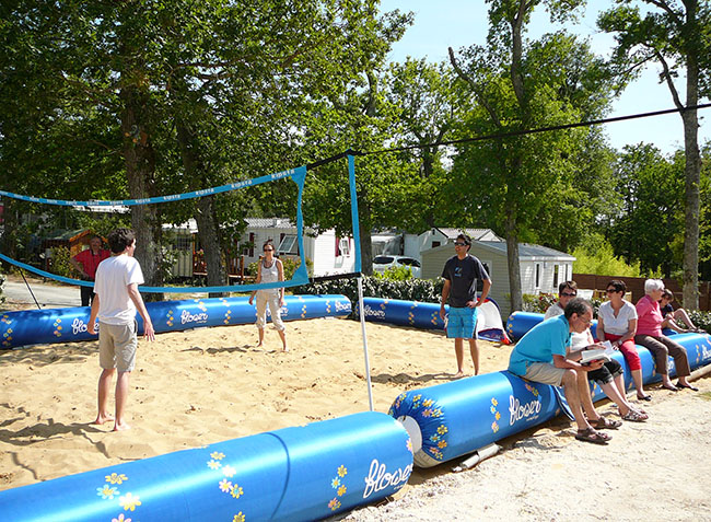 camping Les Côtes de Saintonge beach-volley-10