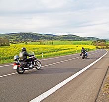 biker-friendly campsites